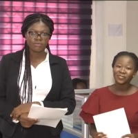 Future Stars: UG and GIJ Interns excel at GHOne's Mock News